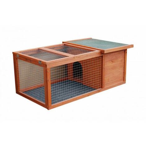 Cage d'extérieur Rabbit Space pour lapin et cochon d'inde