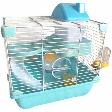 Cage équipée 29 x 21 x 30 cm pour hamster, petit rongeur - K818 - Happet