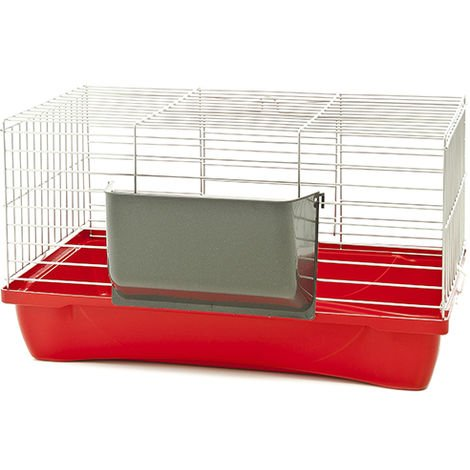 Cage for rabbits and guinea pigs model Felix 58x32x31 cm