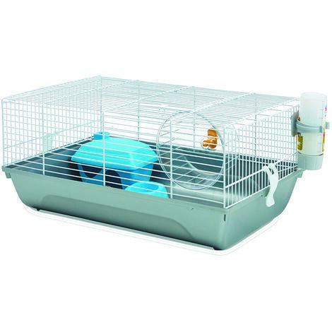 Cage hamster - bleu