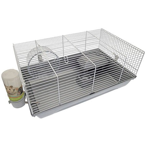Cage hamster - gris