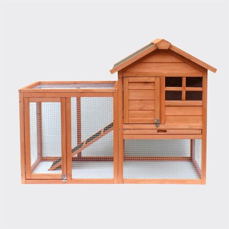 cage lapin lapin clapier Freilaufgehege a augmenté abri Stall