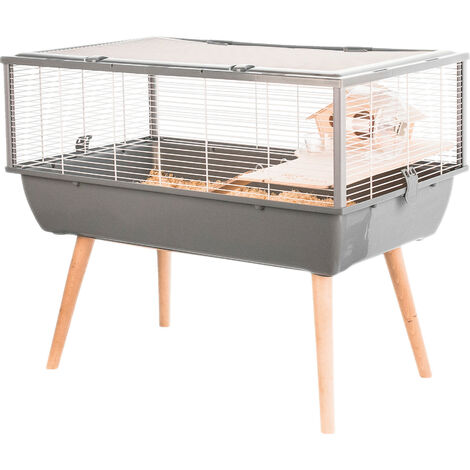 Cage Neo nigha pour petits rongeurs 36 cm Beige - Beige