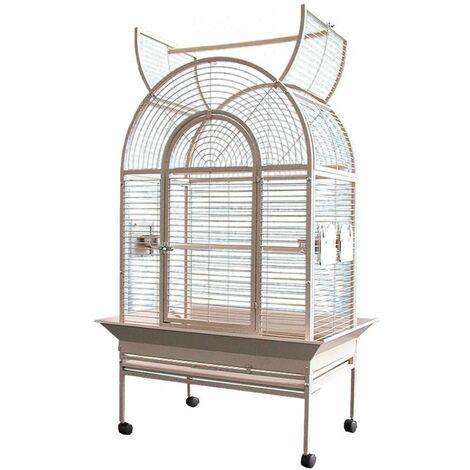 Cage perroquet Elektra saumon 86x55x156cm L