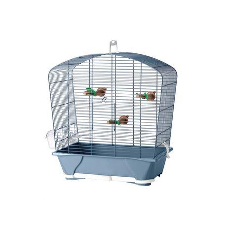 Cage petit oiseau louise 30 bleu 45x25x48cm