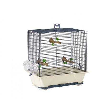 Cage petit oiseau primo50 bleu 64x38x56cm