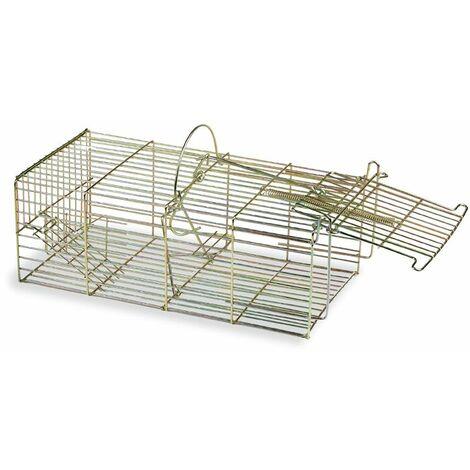 Cage Piège Multi Capture Pour Petit Mammifère Gaun (18*36.5*16cm)