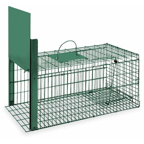 Cage Piège Pliable Peinte Gaun 370 X 750 X 340 Mm