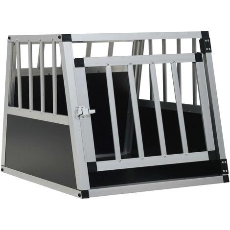 Cage pour chien avec une porte 54 x 69 x 50 cm