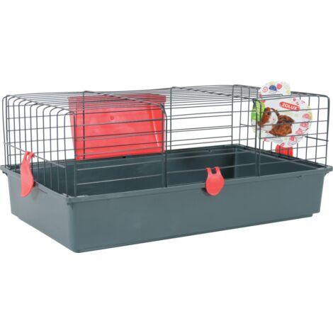 Cage pour cochons d'Inde Classic 70 - Rouge cerise
