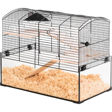 Cage pour gerbille Neo panas Classique - Noir
