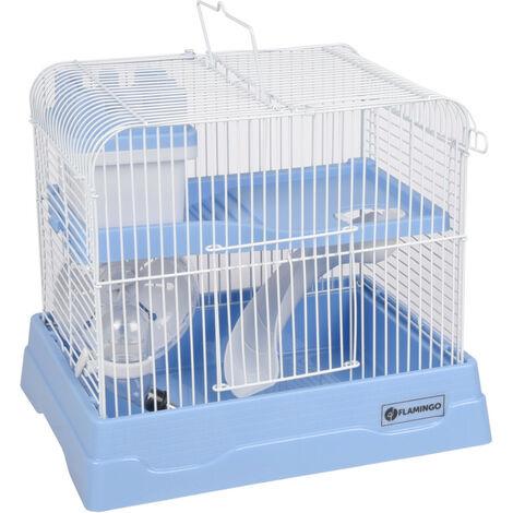 Cage pour hamster dinky bleu 30 x 23 x 26 cm