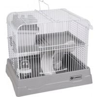 Cage pour hamster dinky grise 30 x 23 x 26 cm
