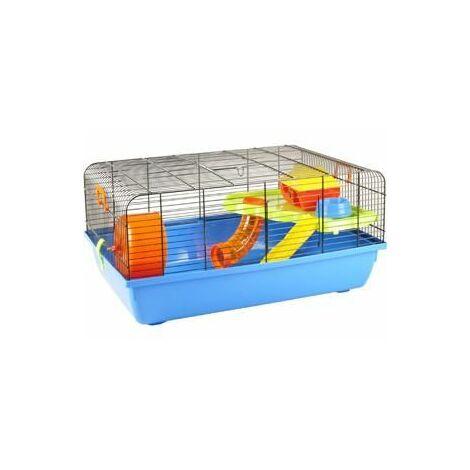 Cage pour hamster milo 1 58x38x28cm