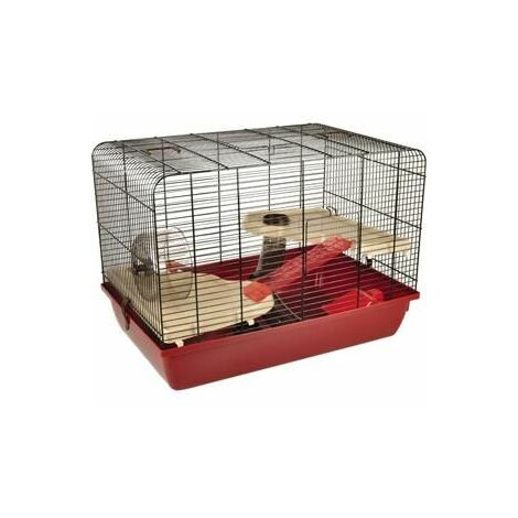 Cage pour hamster milo 2 58x38x42,5cm