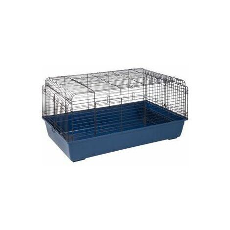 Cage pour lapin sprinters 120cm bleu