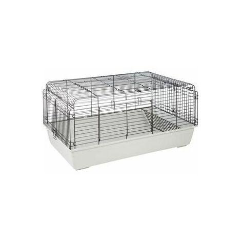 Cage pour lapin sprinters 120cm ivoire