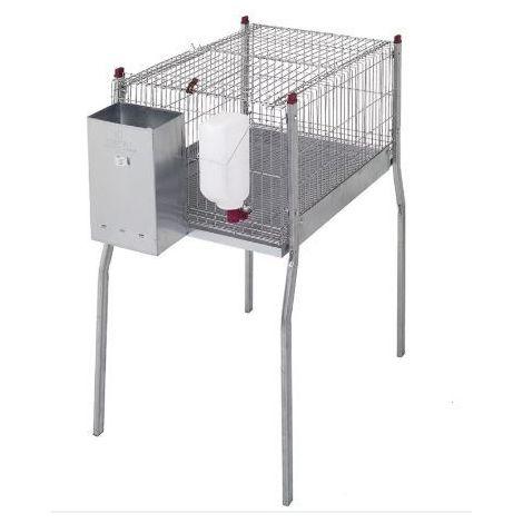 Cage pour lapins MARSEILLE-avec pieds