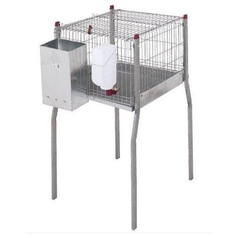 Cage pour lapins Milan-avec pieds