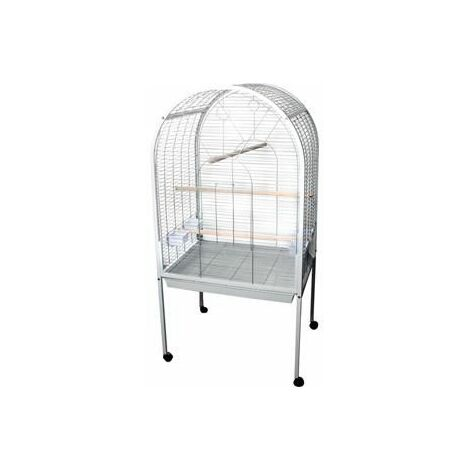 Cage pour perroquets polly blanc