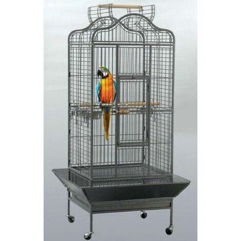 Cage pour Voliera Perch perroquets oiseaux L 81 x B 78 x H 155 cm