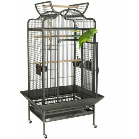 Cage pour Volière perchoir perroquets oiseaux ROME