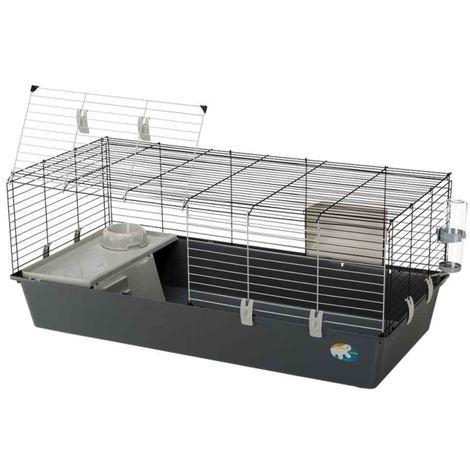 Cage Rabbit 120 pour Lapin et Cochon d'Inde - Ferplast