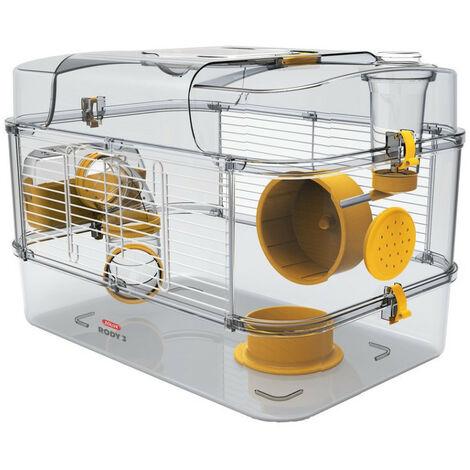 Cage rody 3 solo Banane. taille : 41 x 27 x 28 cm. pour petit rongeur