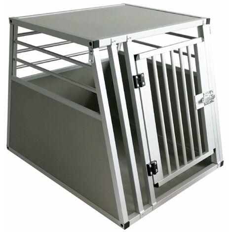 Cage simple en aluminium pour chiens et chats Ferribiella