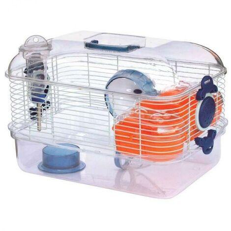 Cage transparente pour hamster