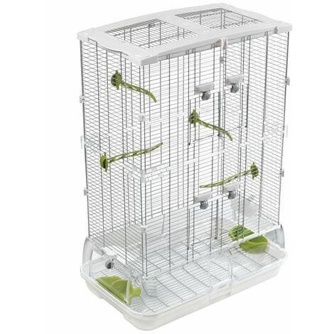 Cage Volière Voliera Pour Les Oiseaux L 61 x B 38 x H 88 cm