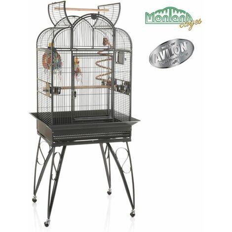 Cage Volière Voliera Pour Les Oiseaux L 78 x B 62 x H 163,5 cm