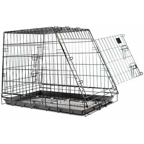 Cages pliantes disponibles en différentes options.