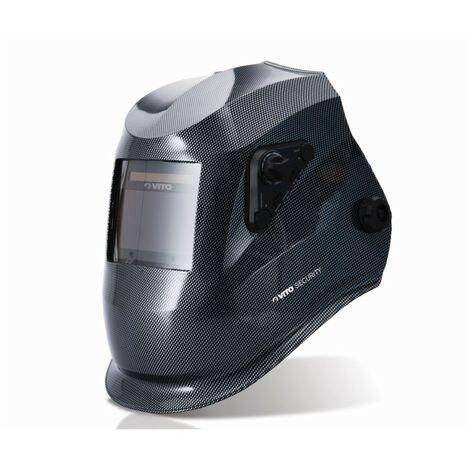Cagoule de soudure 4 Capteurs VITO BLACK VIEW Din 5/13 Vision XXL 100 x 53 mn Mig mag Tig Plasma