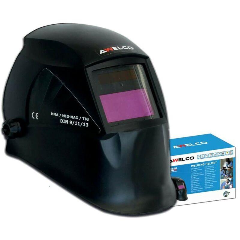 Ausla Masque soudure,capuchon dobscurcissement automatique pour casque de soudage /à /énergie solaire avec plage de teinte r/églable 4//9-13 pour Mig Tic