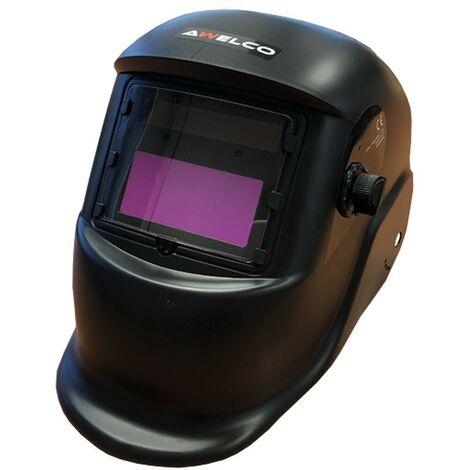 Cagoule de soudure Awelco HELMET 1500 Masque de soudure automatique teinte variable 9 à 13 Alimentation solaire