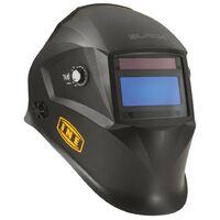 Cagoule de soudure LCD BLACK 4/13 Masque de soudure automatique fonction Meulage Alimentation Piles et Solaire