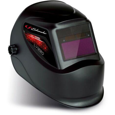Cagoule de soudure LCD Teinte 11 + Meulage teinte 3 Masque de soudure Schumacher display automatique