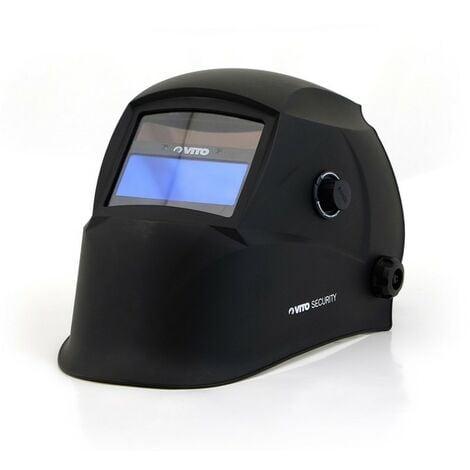 Cagoule de soudure LCD VITO Masque de soudure automatique teinte variable 9 à 13 - alimentation solaire