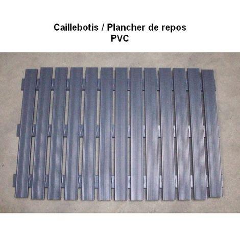 Caillebotis / Plancher de repos PVC Désignation : Caillebotis repos | Type : T6 | Taille : Caillebotis repos MORIN 990504