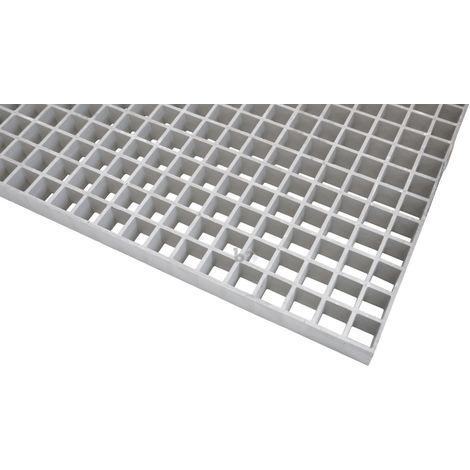 caillebotis plastique renforcé de fibre de verre 997x500x38mm maille 30x30mm