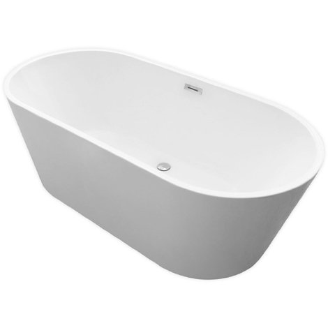 Cairo Double Ended Freestanding Bath 1685mm x 804mm