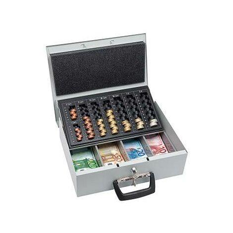 Caisse à monnaie WEDO 1554465 (l x H x P) 355 x 100 x 275 mm gris clair 1 pc(s) S311831