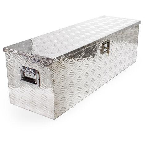 Caisse à Outils Aluminium Boîte en Alu Caisse de Transport Caisse de Rangement