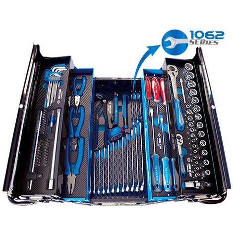 Caisse à outils complète 220 x 260 x 470 mm - 100 pièces