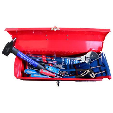 Caisse à outils complète - 26 pièces - 162 x 165 x 484 mm