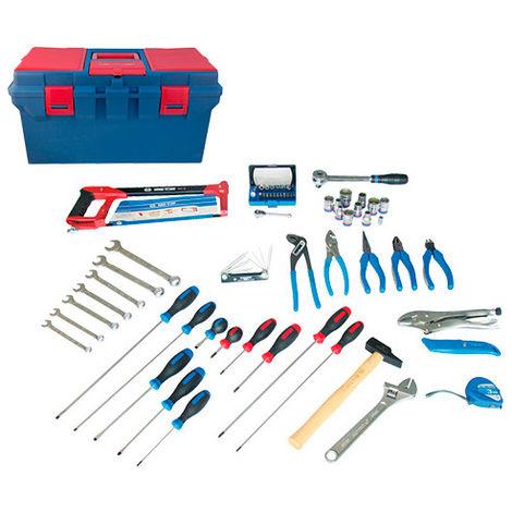 Caisse à outils complète Electrité - Electromécanique - 67 pièces