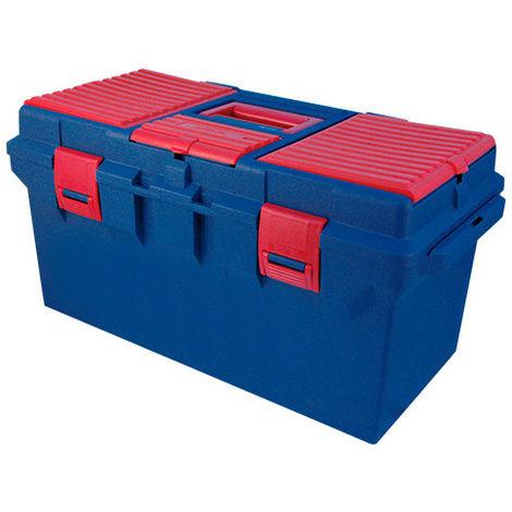 Caisse à outils en plastique vide - 560 x 278 x 270 mm
