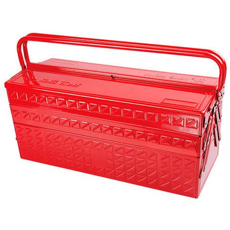 Caisse à outils métallique XL vide - 530 x 220 x 260 mm