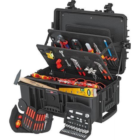 Caisse à outils Robust 45 Elektro 63-pièces KNIPEX